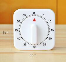 Kitchen Timer 60 Minutes Cook Round Timer Food Baking Reminder Mechanical 1 Hour