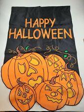 "Halloween Jack o lantern 28""x40"" Flag Free Shipping"