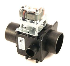 Unimac F200166400 Drain Valve, 3 inch, 230V/50-60Hz, NO, w/Overflow,