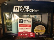 Duke Cannon Handsome Man Travel Kit, 7 Items, TSA Approved