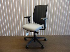Reply Ergonomic Mesh Back Office Chair By Steelcase Adjustable Black Amp Grey