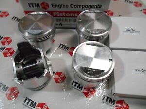 Toyota Corolla 3TC 1800 - 4-Pistons Set Standard Size With Piston Rings 80-82