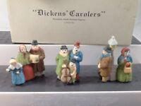 "Department 56 Heritage Village Collection Dickens' Village Series ""Carolers"" Set"