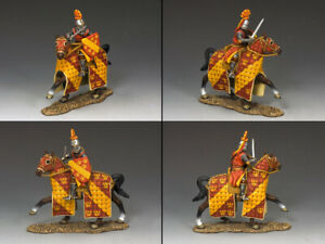 KING & COUNTRY MEDIEVAL KNIGHTS & SARACENS MK104 KNIGHT OF THE ACCARIGI FAMILY