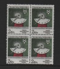 "CZECHOSLOVAKIA 1991 ""PINOCCHIO""  BLOCK OF 4 *MNH*"