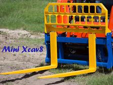 Pallet FORKS -1800kg Capacity for Skid Steer & Posi Track Loaders -Free freight