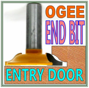 """1 pc 1/2"""" SH Roman Ogee End Router Bit For Entry Door Set S"""