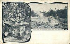 Bismarck Archipelago PNG, New Britain, Willaumez Peninsula Geyser, Papua (1899)