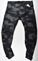 G-STAR RAW, Powel 3D Tapered Cuffed, Cargohose Camouflage W34 L32