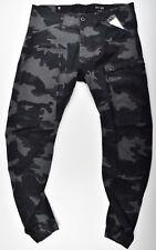 G-STAR RAW, Powel 3D Tapered Cuffed, Cargohose Camouflage W34 L32