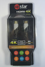 Upstar Up Star Ultra HD 4 K 6 Foot HDMI Cable Television Cord New in Package