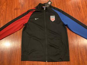 Nike Men's United States Soccer Track Jacket Extra Large XL US USA USMNT
