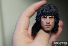 Custom 1/6 Sylvest Stallone Rambo Head Sculpt For Hot Toys & Ganghood Body