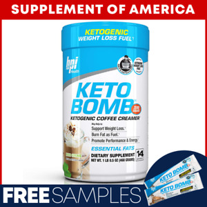 "Bpi KETO BOMB French Vanilla Latte 14 Servings With MCT Oil ""FREE SHIPPING"""