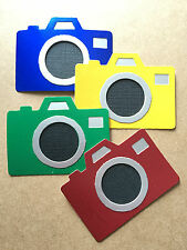 Big Camera Photo SLR/Digital Photography Snapshots Die Cuts (Scrapbook/Cards)