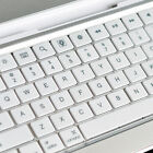 Wireless For ipad 2 3 3rd Gen Aluminum Ultra Thin Bluetooth KeyBoard shell white