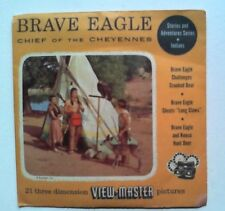 Brave Eagle  Chief of the Cheyennes  View Master  S3  Packet   1956
