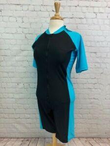 WETSUIT Women's XL Spring Front Zip Short Sleeve Suit