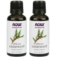 Now Foods Cedarwood 1-ounce Essential Oils (Pack of 2)