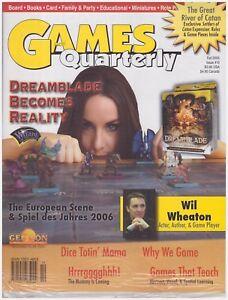Games Quarterly: Issue #10 Fall 2006, The Great River of Catan, (Factory Sealed)