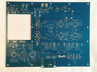 Tube Pre-amplifier Stereo ARC SP-10 PCB Premium Grade 2.4MM Thickness board Blue