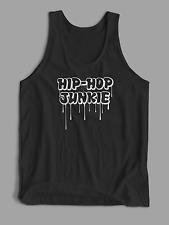 MENS VEST TANK TOP Hip Hop Junkies Drips