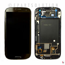 Samsung Galaxy S3 I747 T999 Gray LCD Digitizer w/ Frame Assembly NO LOGO USA
