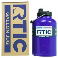 RTIC® 1 Gallon Royal Blue Water Bottle Jug Insulated Stainless Steel Rambler