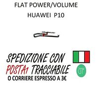 FLAT FLEX POWER TASTO ACCENSIONE ON OFF VOLUME PER HUAWEI P10 VTR-L09