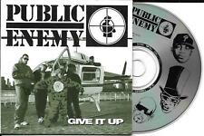 CD CARTONNE CARDSLEEVE COLLECTOR PUBLIC ENEMY GIVE IT UP 7 TITRES MADE IN USA 94