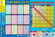 Educational A2 / Multiplication/Times Tables /each . Educational
