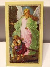 Guardian Angel English/Spanish Prayer Cards - 25 Pcs, Baptism Favors