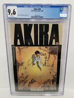 Akira #29 CGC 9.6 NM+ NEWSSTAND 1991 Katsuhiro Otomo Cover & Art 1 on CGC census