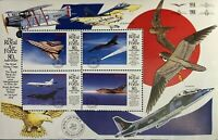 Nevis 1998 - Royal Airforce - Sheet of Four - MNH