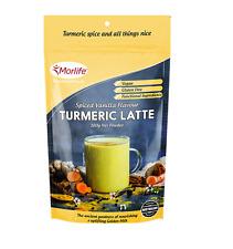 Morlife Turmeric Latte 100g | Vegan Gluten Free Golden Latte Gold Drink