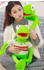 "The Muppet Show Kermit the Frog plush puppet Toy 70cm/28"" with cloth"