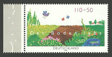 GERMANY 2000 ENVIRONMENT PROTECTION BIRDS BUTTERFLIES FLOWERS SET MNH