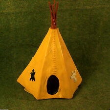 Timpo Toys Made in GT.Britain gelbes Indianer Zelt Tipi Wigwam