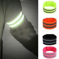 2pcs Reflektierendes Sicherheitssport-Nachtlauf-Armband mit hoher Sichtbarkeit
