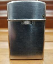 """WORKING COLLECTIBLE VINTAGE Sarome """"Gas"""" Cigarette Lighter SILVER. Made In Japan"""