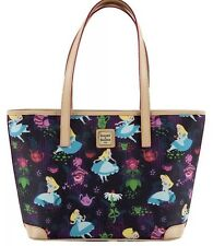 New Dooney & Bourke Disney Alice In Wonderland Tea Time Shopper Tote Bag