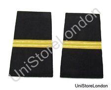 Epaulet Pilot Epaulette Sliders 1 Gold Bar Black Cloth R1294