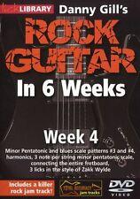 Lick Library Danny Gill's Rock Guitarra En 6 Semanas aprender a jugar Zakk Wilde Dvd 4