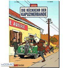 Die Abenteuer von Jacques Gibrat 2 Die Rückkehr der Kapuzinerbande COMIC HC NEU