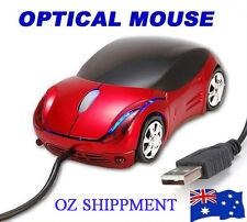 Optical USB Mouse Super Cool LED 3D Ferrari Car Shape for PC Laptop