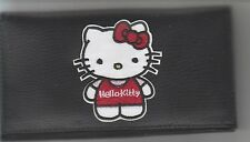 HELLO KITTY LEATHER CHECKBOOK COVER HELLO KITTY'S BRAND NEW HAIR RIBBON