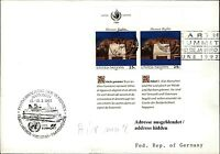 Schiff GTS FINNJET Schiffsstempel Brief Schiffspost United Nations Briefmarken