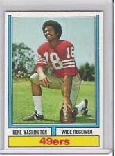 1974 TOPPS GENE WASHINGTON (EXMT+ OR BETTER)