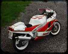 Bimota Yb6  1 A4 Metal Sign Motorbike Vintage Aged