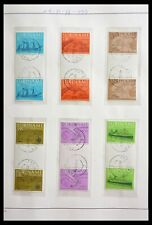 Lot 29154 Collection gutterpair stamps of Surinam 1977-2003.